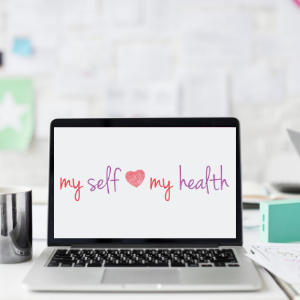 my-self-my-health-on-laptop