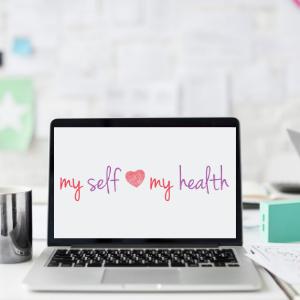 my-self-my-health-on-laptop